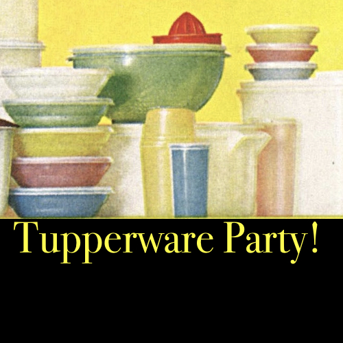 Tupperware Party with Jérôme Petazzoni, Mark Heckler, and Jennifer Heckler